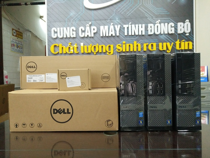 Dell Optiplex 3020/ Intel Core i3 4130, Dram3 4Gb, HDD 500Gb kiểu dáng đẹp giá rẻ