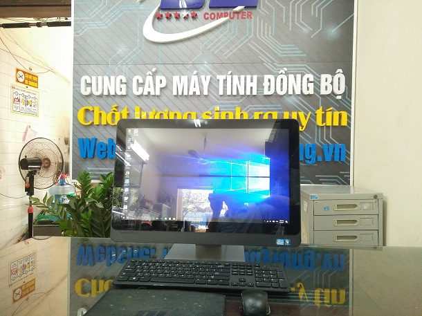 Dell all in one 9020, Core i3 4130, Màn Touch 23