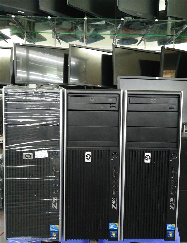 Hp Workstation Z400, SSD 120G, VGA GTX 750Ti 2G, Xeon X5650, Dram3 8G, HDD 500G