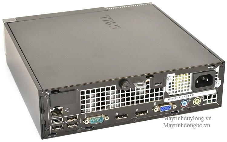 Dell Optiplex 7010 usff/ Core-i5 3470s, DDram3 4Gb, SSD 120Gb nhanh bền rẻ máy siêu nhỏ