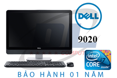 Dell All in one 9020/ Core-i5 4570s, Dram3 8G, SSD 240G mới, Màn IPS LED 23 Full HD