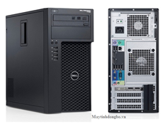 Dell WorkStation T1700 MT/ Xeon E3-1220v3, VGA K600, SSD 120G, DDR3 8Gb + HDD 500G