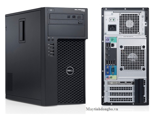 Dell WorkStation T1700 MT/ Core i5 4570, VGA QUADRO 2000, SSD 120G, DDR3 8Gb + HDD 500G
