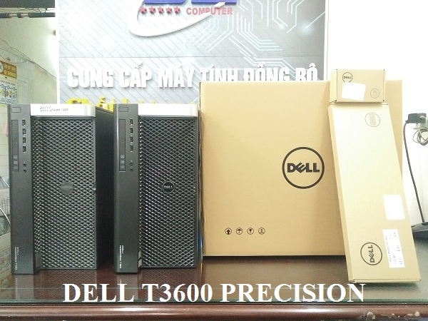 Dell Workstation T3600/ Xeon E5-2680, SSD 240G, VGA GTX 1060, Dram3 16Gb, HD 1Tb