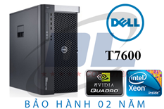 Dell WorkStation T7600, Xeon E5-2680, VGA K4200 4GR5, SSD 240G, Dram3 32Gb, HDD 1Tb