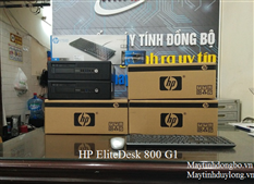 Hp Elitedesk 800 G1/ intel Core i5 4570, Dram3 4Gb, SSD 120G + HDD 250G Vip giá rẻ