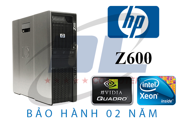 Hp Z600 Workstation, Xeon X5670, VGA GTX 1060, SSD 240G HDD 2Tb, Dram3 32Gb