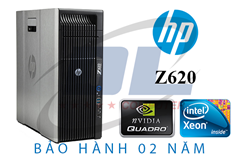 Hp z620 Workstation/ 2 chíp E5-2689, VGA Quadro K2200 4GR5, Dram3 32Gb, SSD 240G+HDD 500G