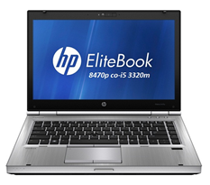 Laptop Hp 8470p elitebook/ core i5 3340M/ DDram3 4Gb/ HDD 250Gb/ màn 14inch LED