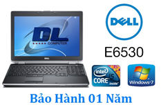 Laptop Dell Latitude E6530, Core-i5 3210m/ Dram 4Gb/ HD 320Gb, Màn hình 15,6inch